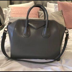 Givenchy Antigona Medium Gray Bag